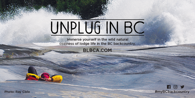 Unplug in BC - Find a Lodge