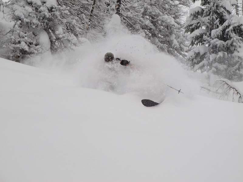 Skiing-Powder