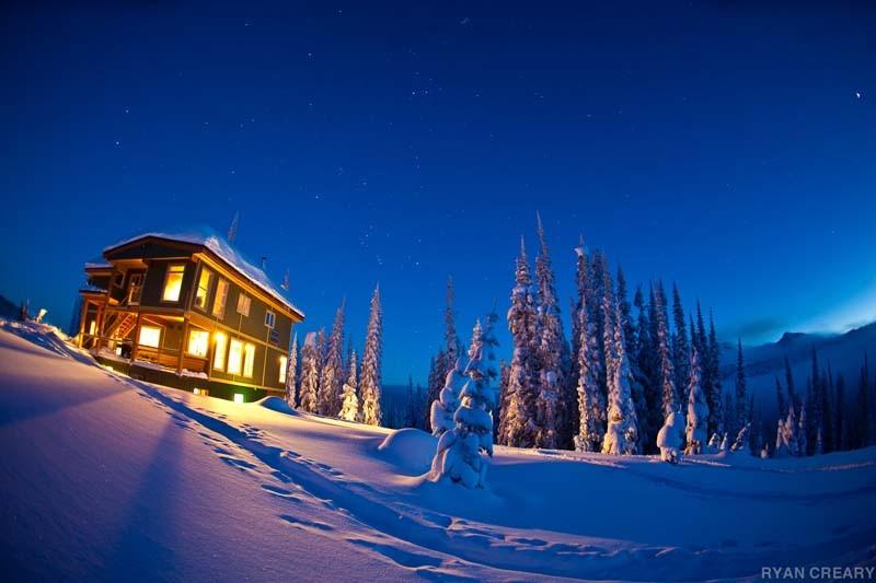 Lodge-at-Dusk