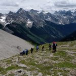 BLBCA_Descending from the Continental Divide and towards the Royal Group in BC_Blog_Summer