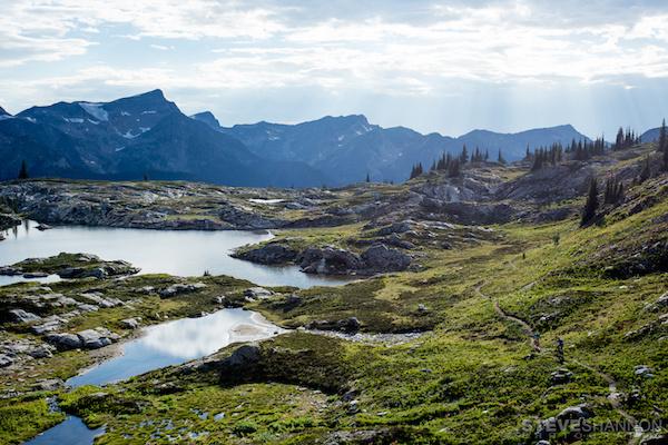 BLBCA-Blog-Trail near Alpine Lake-Mar 12, 2017