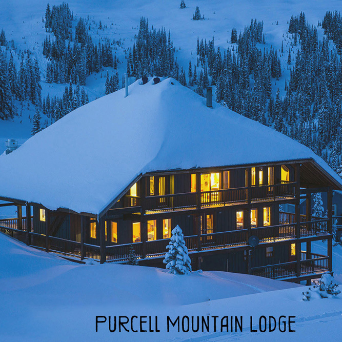 Purcell Mountain Lodge, BC