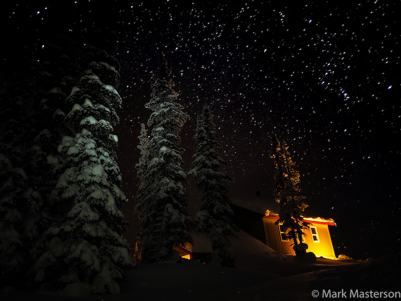 Sunrise Lodge Starry Night