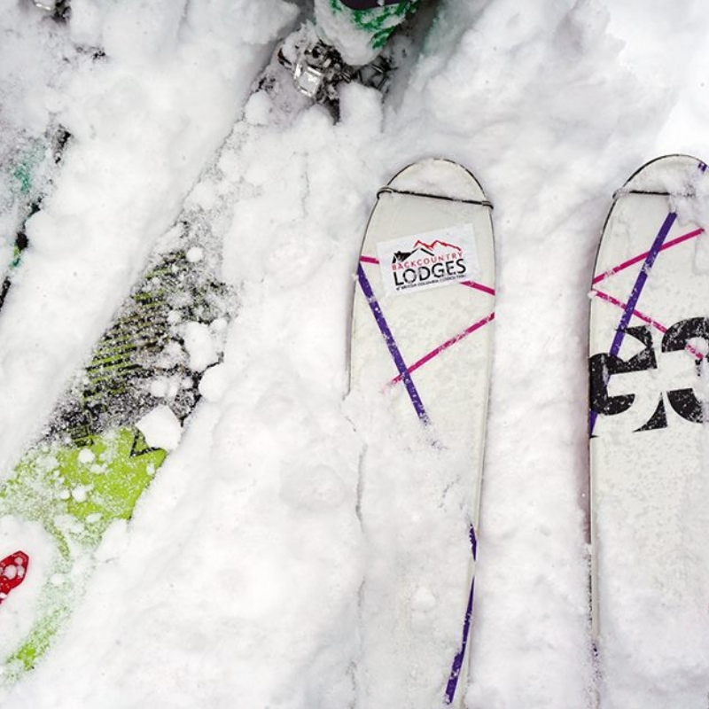 BLBCA Sticker - Skis On Snow