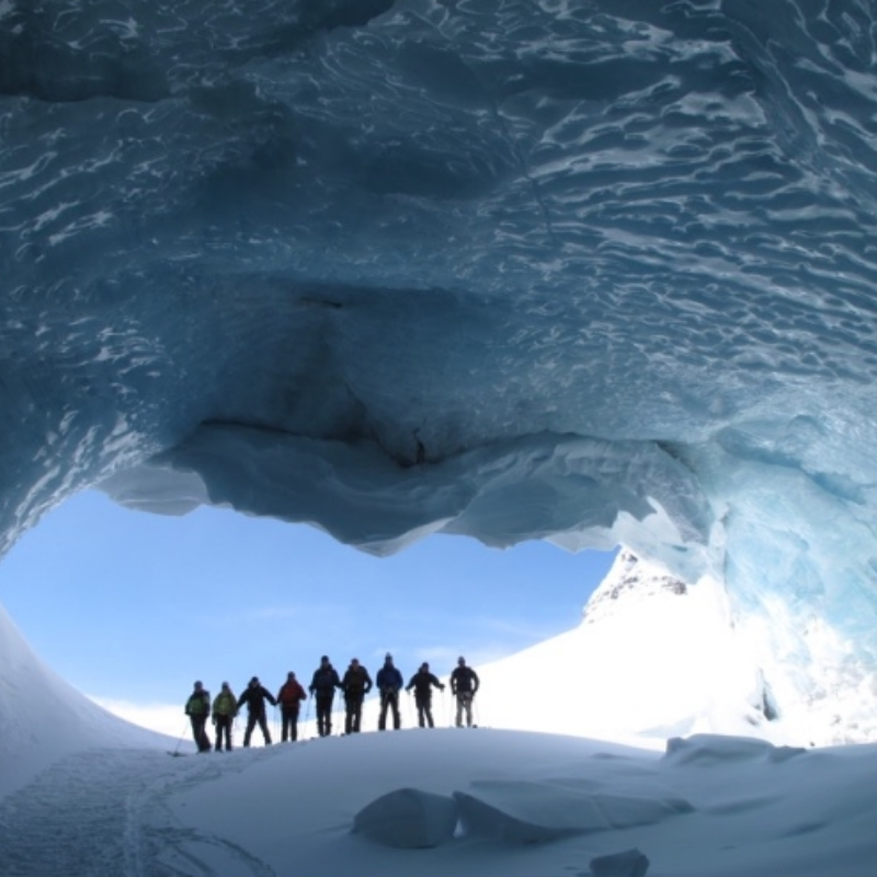 Spring Newsletter - Cave At Icefall